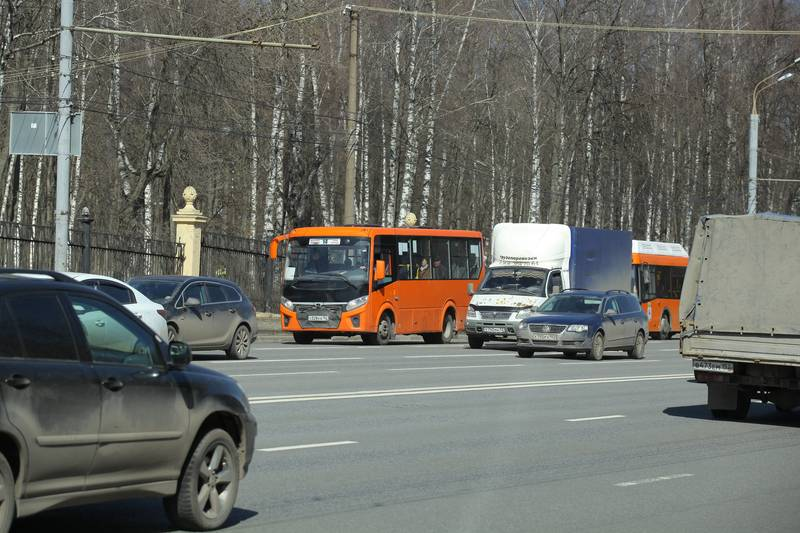Заезд автобусов вНижний Новгород будет ограничен с1июня