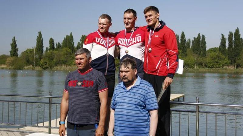 Волгоградские гребцы привезли 4 медали скубка РФ