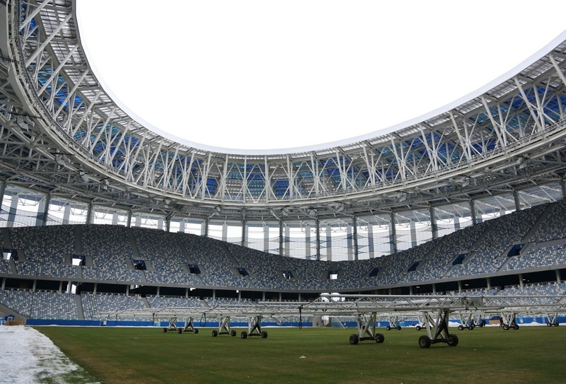 Стадион «Нижний Новгород» введен вэксплуатацию
