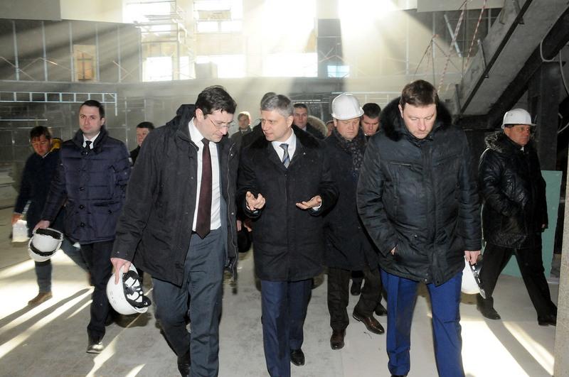 Пусконаладочные работы нажелезнодорожном вокзале Нижнего Новгорода планируется начать весной
